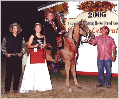 Image's Smoky Topaz Z. & Brenda Zeigenbein winning Reserve World Grand Champion